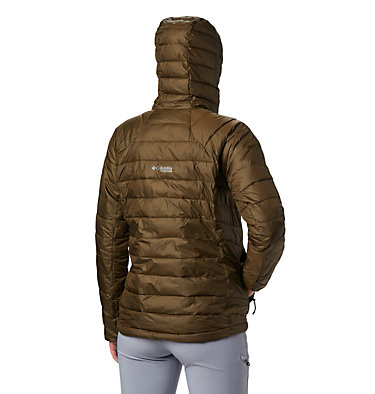 Women's Snow Country™ Hooded Jacket Snow Country™ Hooded Jacket | 843 | XS, Olive Green, back