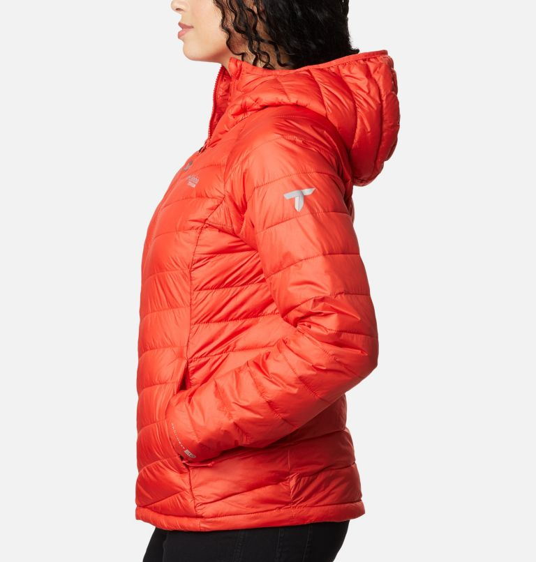 Snow Country™ Hooded Jacket | 843 | M Women's Snow Country™ Hooded Jacket, Bold Orange, a1