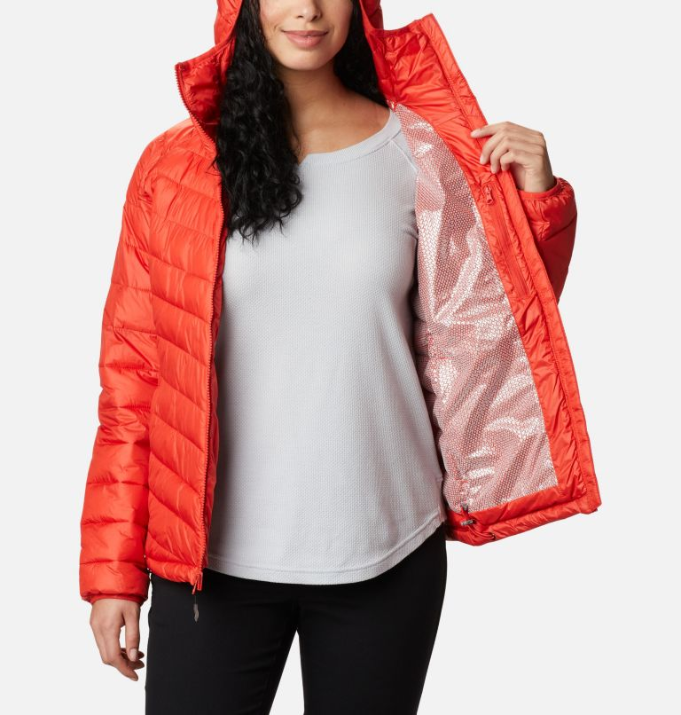 Snow Country™ Hooded Jacket | 843 | M Women's Snow Country™ Hooded Jacket, Bold Orange, a3
