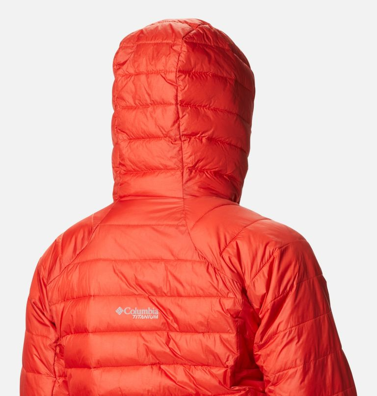 Snow Country™ Hooded Jacket | 843 | M Women's Snow Country™ Hooded Jacket, Bold Orange, a4