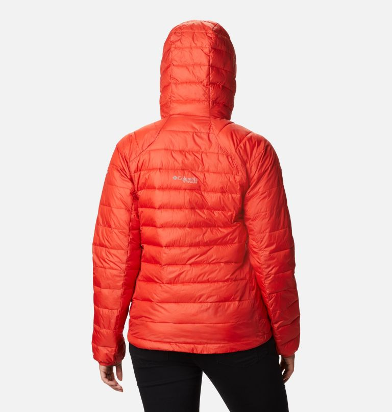 Snow Country™ Hooded Jacket | 843 | M Women's Snow Country™ Hooded Jacket, Bold Orange, back