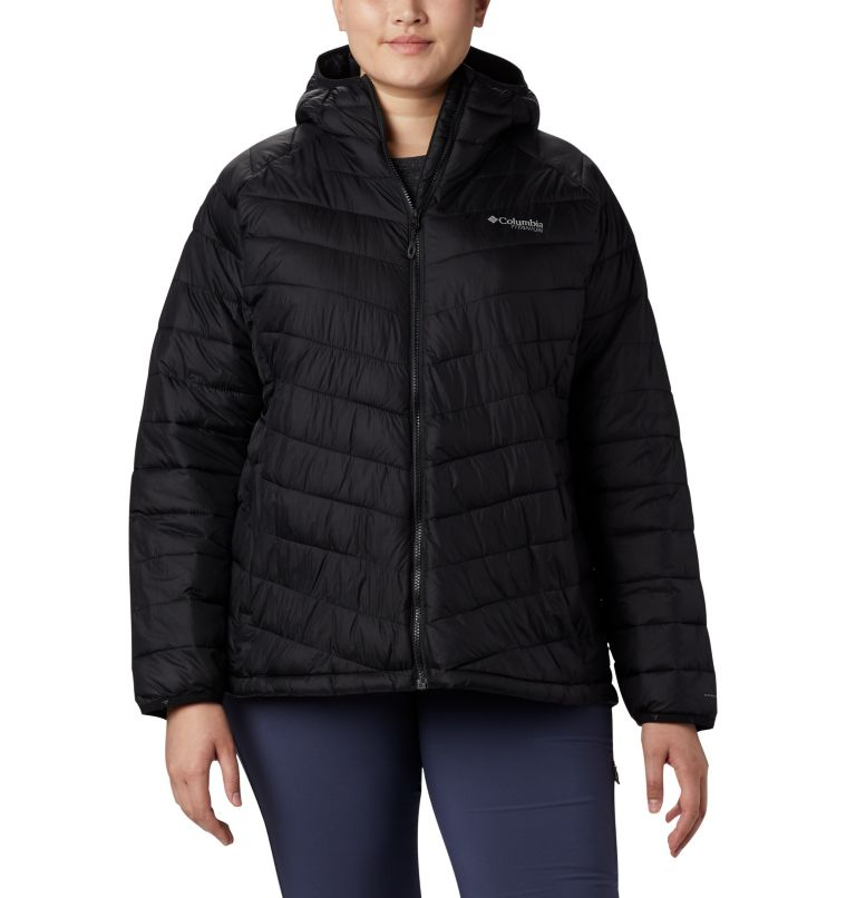 Women's Snow Country™ Hooded Jacket - Plus Size Women's Snow Country™ Hooded Jacket - Plus Size, front