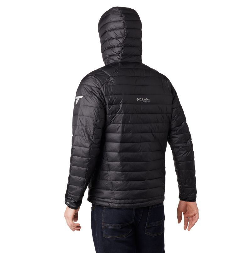 Snow Country™ Hooded Jacket | 010 | XL Men's Snow Country™ Hooded Jacket, Black, back