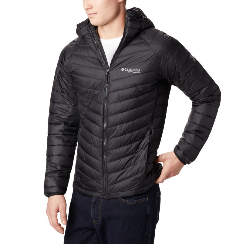 Snow Country™ Hooded Jacket | 010 | XL Men's Snow Country™ Hooded Jacket, Black, front