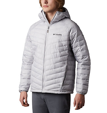 Men's Snow Country™ Hooded Jacket Snow Country™ Hooded Jacket | 463 | L, Slate Grey, front