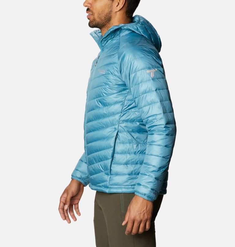Snow Country™ Hooded Jacket | 430 | L Men's Snow Country™ Hooded Jacket, Canyon Blue, a1