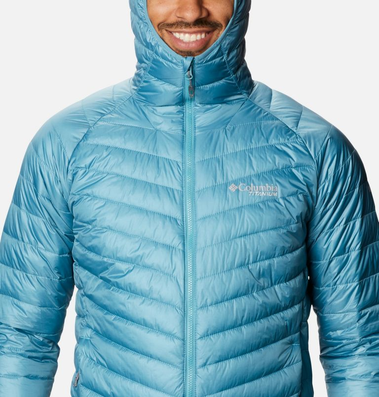 Snow Country™ Hooded Jacket | 430 | L Men's Snow Country™ Hooded Jacket, Canyon Blue, a2