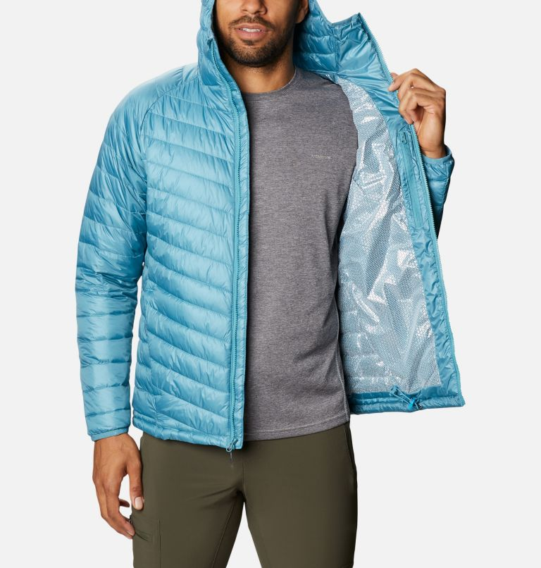 Snow Country™ Hooded Jacket | 430 | L Men's Snow Country™ Hooded Jacket, Canyon Blue, a3