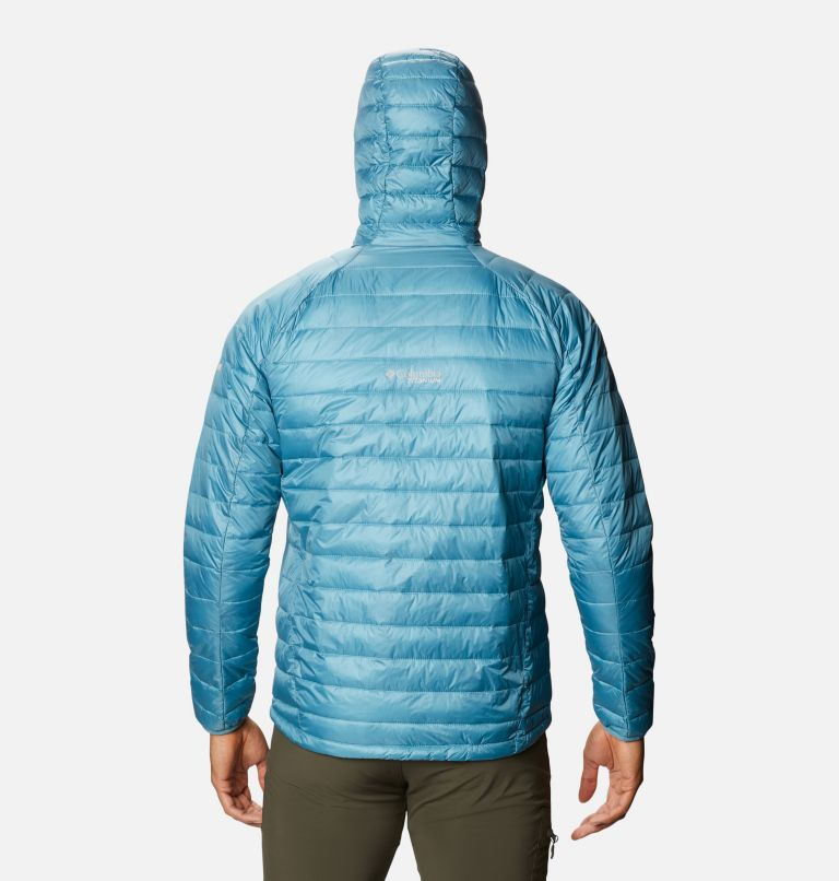 Snow Country™ Hooded Jacket | 430 | L Men's Snow Country™ Hooded Jacket, Canyon Blue, back