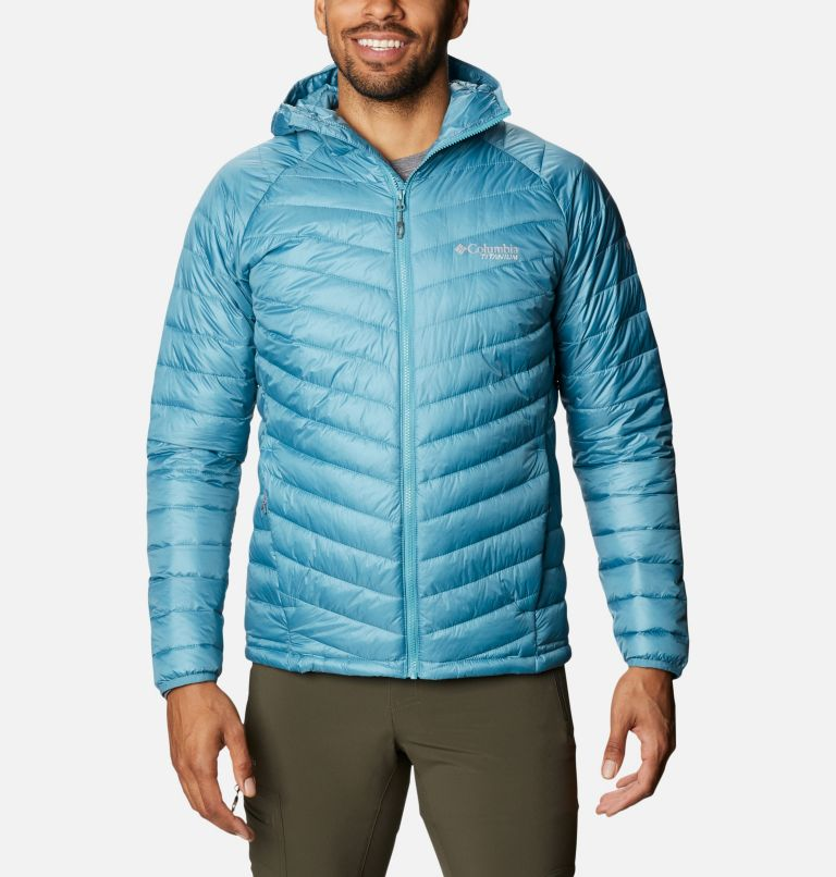 Snow Country™ Hooded Jacket | 430 | L Men's Snow Country™ Hooded Jacket, Canyon Blue, front