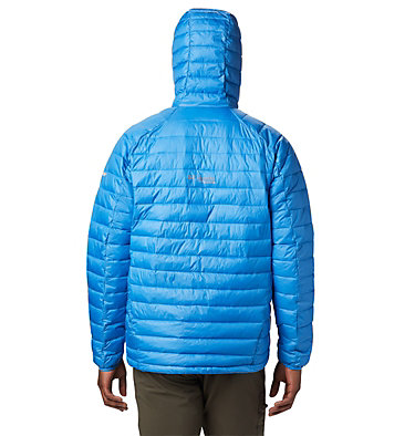 Men's Snow Country™ Hooded Jacket Snow Country™ Hooded Jacket | 511 | S, Azure Blue, back