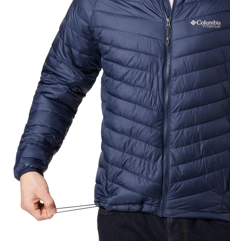 Snow Country™ Hooded Jacket   464   XL Men's Snow Country™ Hooded Jacket, Collegiate Navy, a2