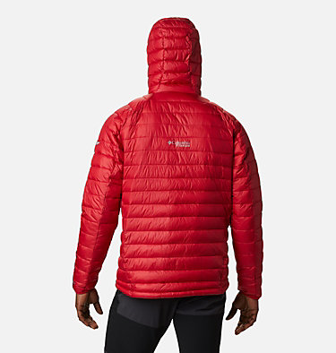 Men's Snow Country™ Hooded Jacket Snow Country™ Hooded Jacket | 613 | XL, Mountain Red, back