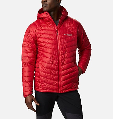 Men's Snow Country™ Hooded Jacket Snow Country™ Hooded Jacket | 613 | XL, Mountain Red, front