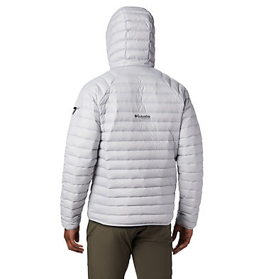 Men's Alpha Trail™ Hooded Down Jacket Alpha Trail™ Down Hooded Jacke | 463 | L, Slate Grey, back