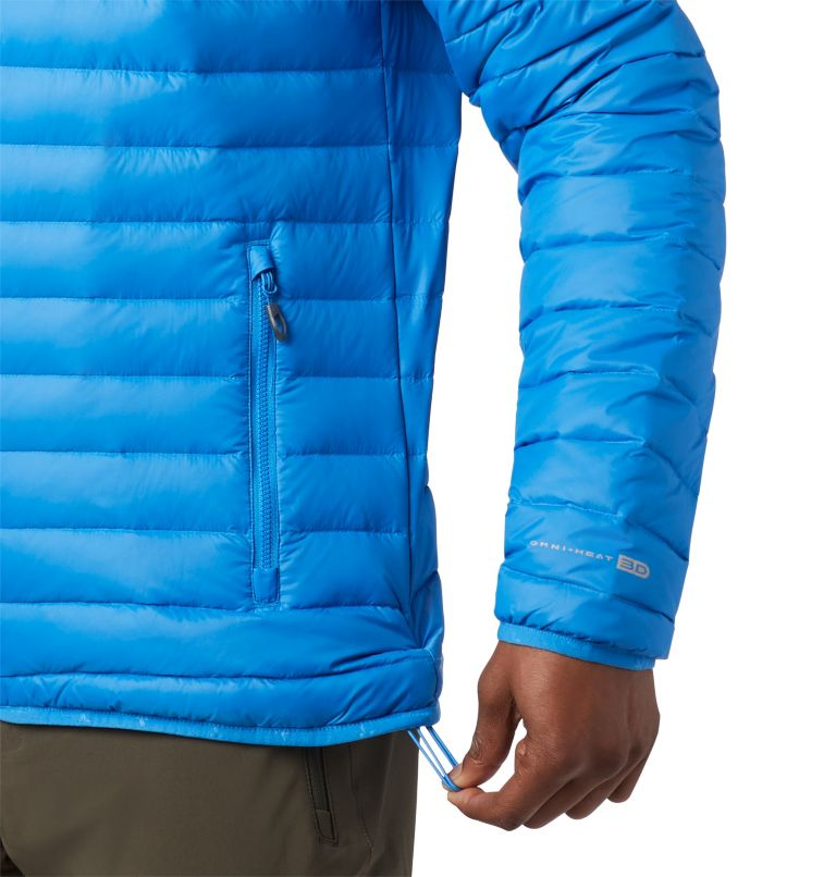 Alpha Trail™ Down Hooded Jacke | 463 | S Men's Alpha Trail™ Hooded Down Jacket, Azure Blue, a1
