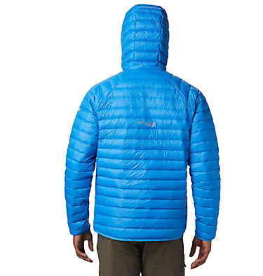 Men's Alpha Trail™ Hooded Down Jacket Alpha Trail™ Down Hooded Jacke | 463 | L, Azure Blue, back