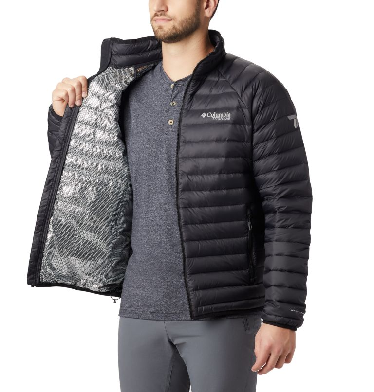 Alpha Trail™ Down Jacket | 010 | XL Men's Alpha Trail™ Down Jacket, Black, a1
