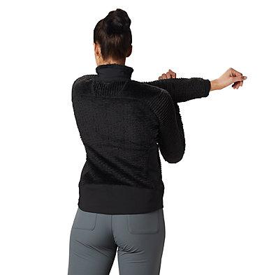 Women's Polartec® High Loft™ Pullover Monkey Woman™ Fleece Pullover   516   L, Black, back