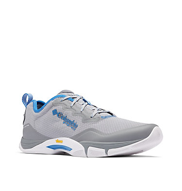 Men's Force XII™ II PFG Shoe FORCE XII™ II PFG | 088 | 10, Steam, Stormy Blue, 3/4 front
