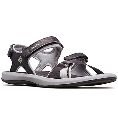 Women's Kyra™ III Ankle Strap Sandal KYRA™ III | 011 | 10, Shark, Steam, 3/4 front