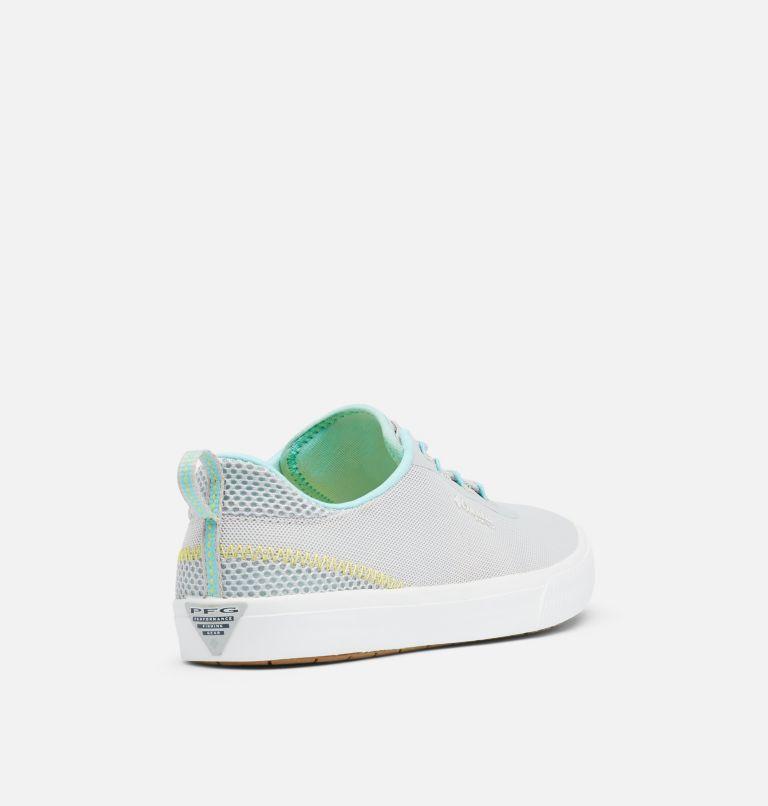 DORADO™ PFG | 082 | 5 Women's Dorado™ PFG Shoe, Silver Grey, Coastal Blue, 3/4 back