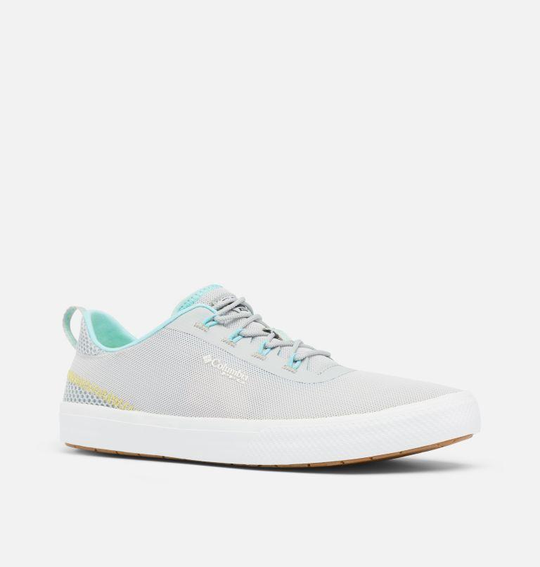 DORADO™ PFG | 082 | 5 Women's Dorado™ PFG Shoe, Silver Grey, Coastal Blue, 3/4 front