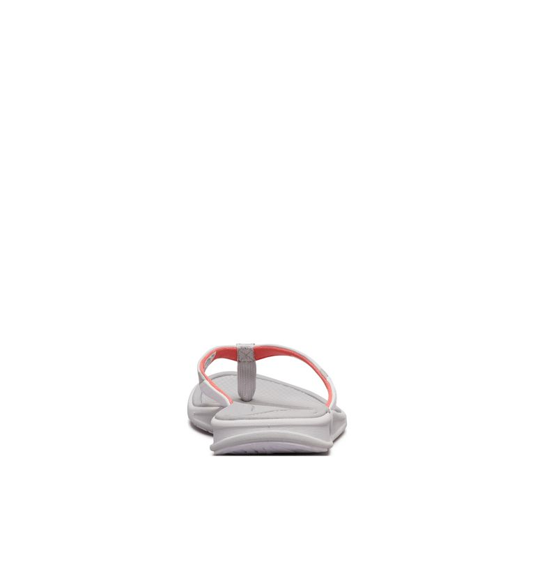 ROSTRA™ PFG | 063 | 6 Women's Rostra™ PFG Sandal, Grey Ice, Red Coral, back
