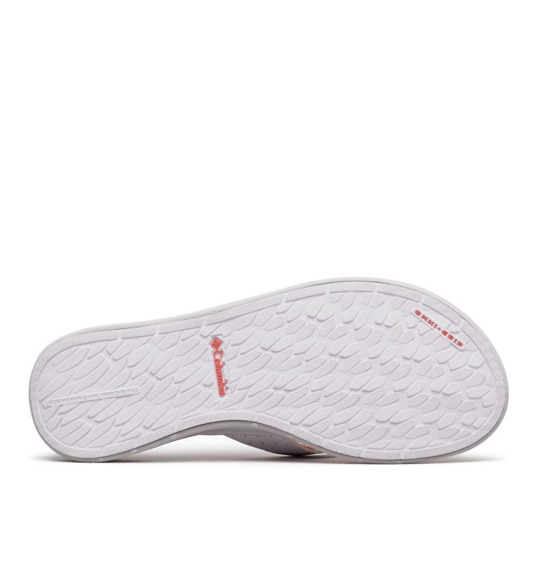ROSTRA™ PFG | 063 | 6 Women's Rostra™ PFG Sandal, Grey Ice, Red Coral