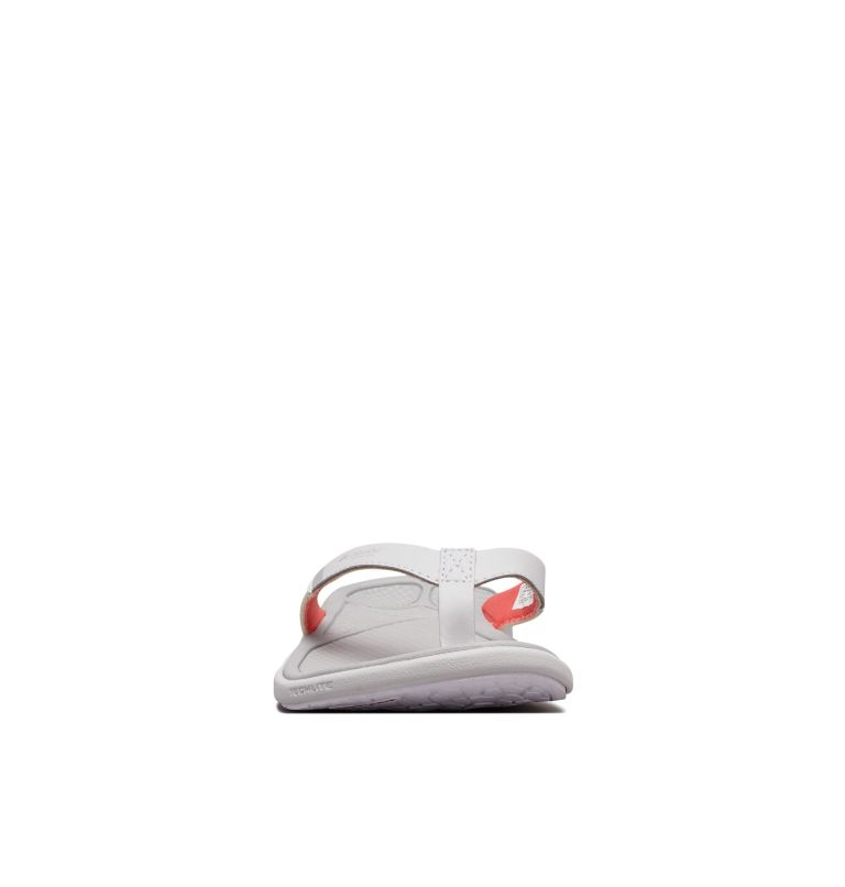 ROSTRA™ PFG | 063 | 6 Women's Rostra™ PFG Sandal, Grey Ice, Red Coral, toe