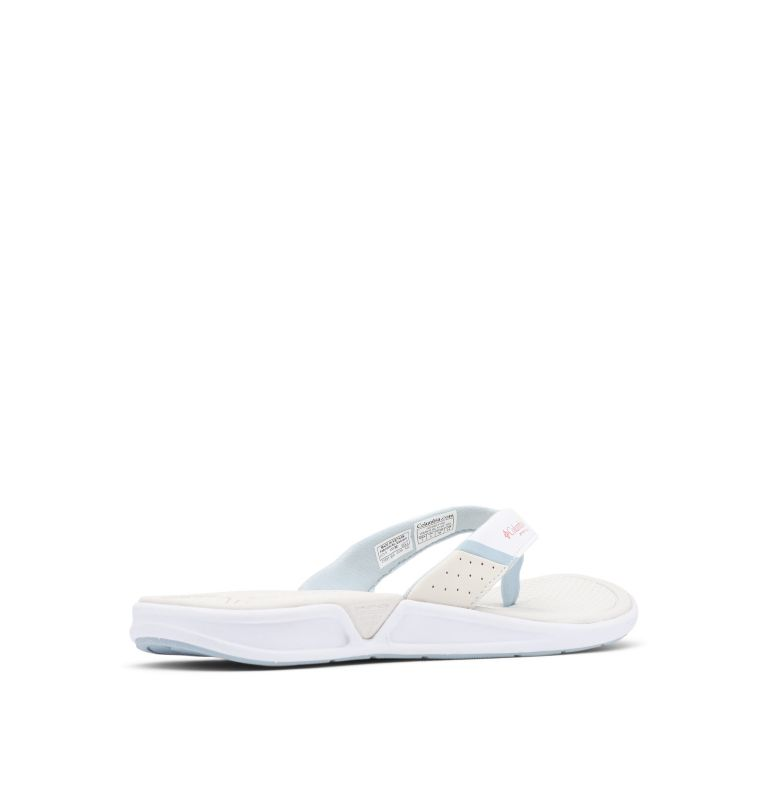 ROSTRA™ PFG | 100 | 5 Women's Rostra™ PFG Sandal, White, Juicy, 3/4 back
