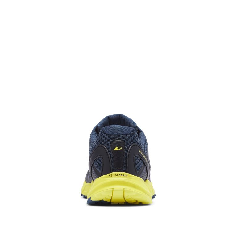 CALDORADO™ III | 010 | 13 Men's Caldorado™ III Trail Running Shoe, Black, Acid Yellow, back