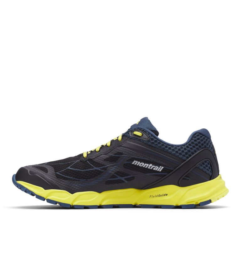 CALDORADO™ III | 010 | 13 Men's Caldorado™ III Trail Running Shoe, Black, Acid Yellow, medial