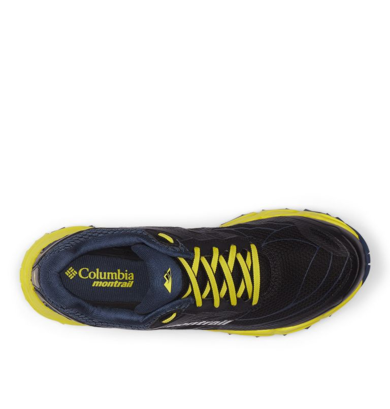 CALDORADO™ III | 010 | 13 Men's Caldorado™ III Trail Running Shoe, Black, Acid Yellow, top