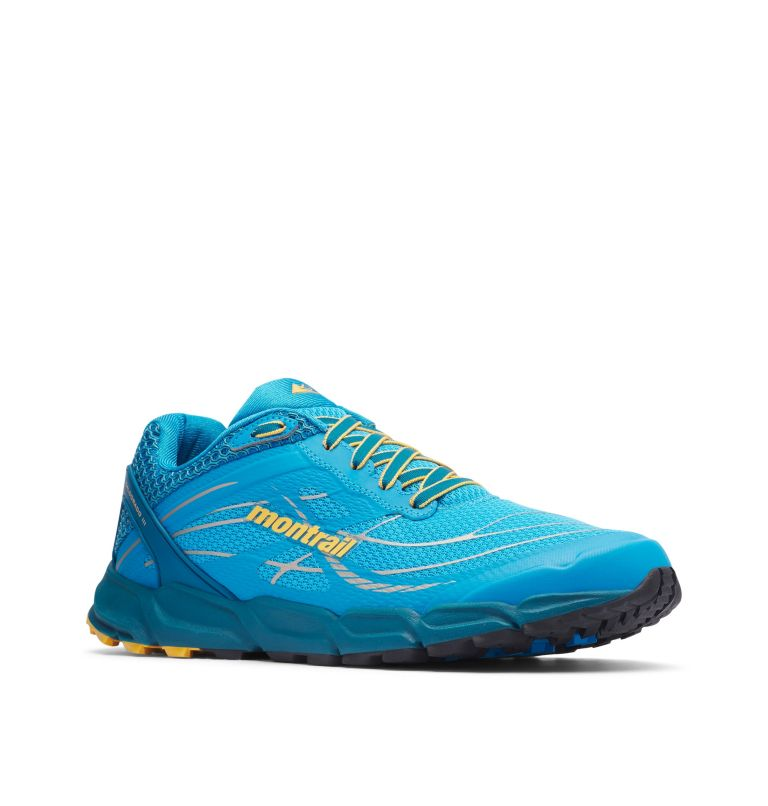 CALDORADO™ III | 463 | 12 Men's Caldorado™ III Trail Running Shoe, Riptide, Honey Yellow, 3/4 front