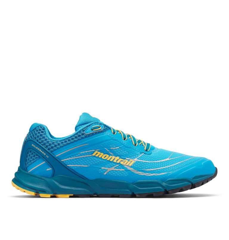 CALDORADO™ III | 463 | 7.5 Men's Caldorado™ III Trail Running Shoe, Riptide, Honey Yellow, front