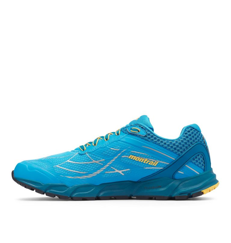 CALDORADO™ III | 463 | 7.5 Men's Caldorado™ III Trail Running Shoe, Riptide, Honey Yellow, medial