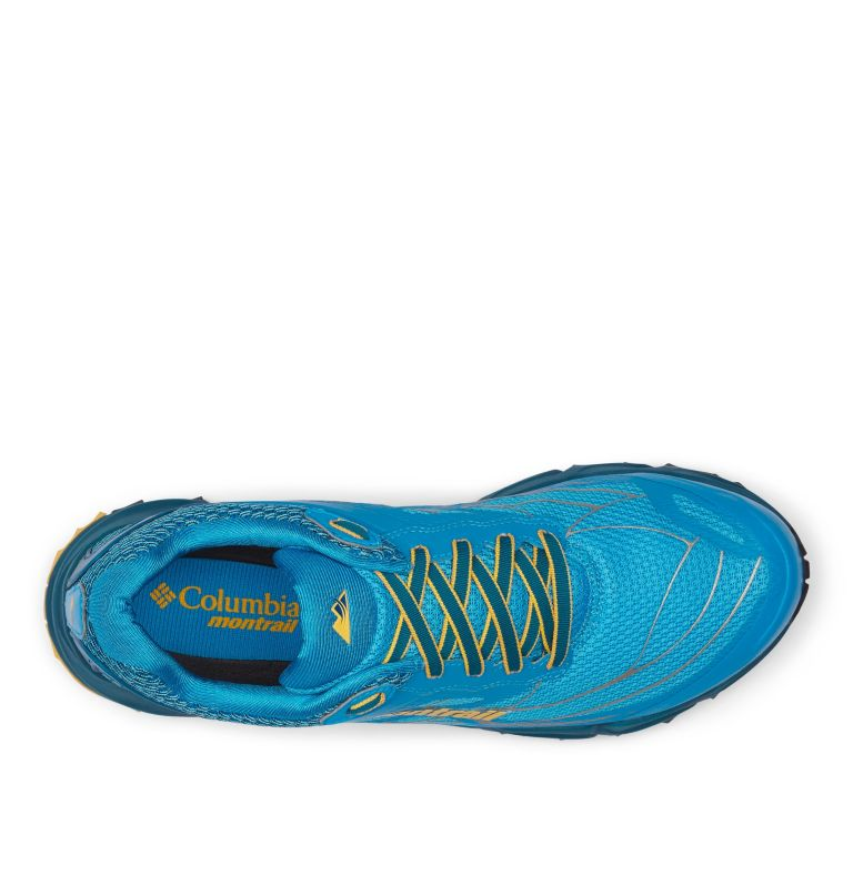 CALDORADO™ III | 463 | 7.5 Men's Caldorado™ III Trail Running Shoe, Riptide, Honey Yellow, top