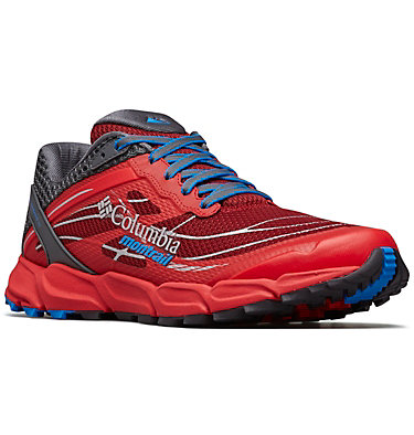 Men's Caldorado™ III Trail Running Shoe CALDORADO™ III | 010 | 15, Red Element, Hyper Blue, 3/4 front