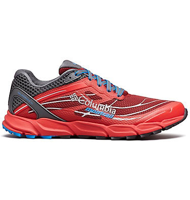 Men's Caldorado™ III Trail Running Shoe CALDORADO™ III | 010 | 15, Red Element, Hyper Blue, front