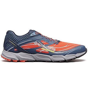 Men's Caldorado™ III Trail Running Shoe CALDORADO™ III | 010 | 15, Red Quartz, Acid Yellow, front