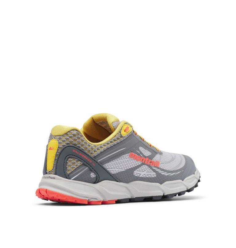 CALDORADO™ III | 098 | 8 Women's Caldorado™ III Trail Running Shoe, Slate Grey, Corange, 3/4 back
