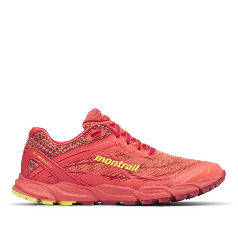 CALDORADO™ III | 852 | 8.5 Chaussures De Trail Running Caldorado™ III Femme, Faded Peach, Acid Yellow, front