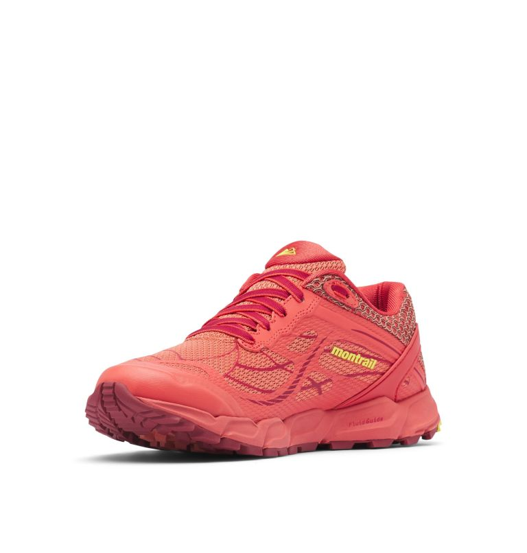 CALDORADO™ III | 852 | 7 Chaussures De Trail Running Caldorado™ III Femme, Faded Peach, Acid Yellow