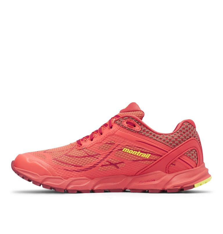 CALDORADO™ III | 852 | 7 Chaussures De Trail Running Caldorado™ III Femme, Faded Peach, Acid Yellow, medial