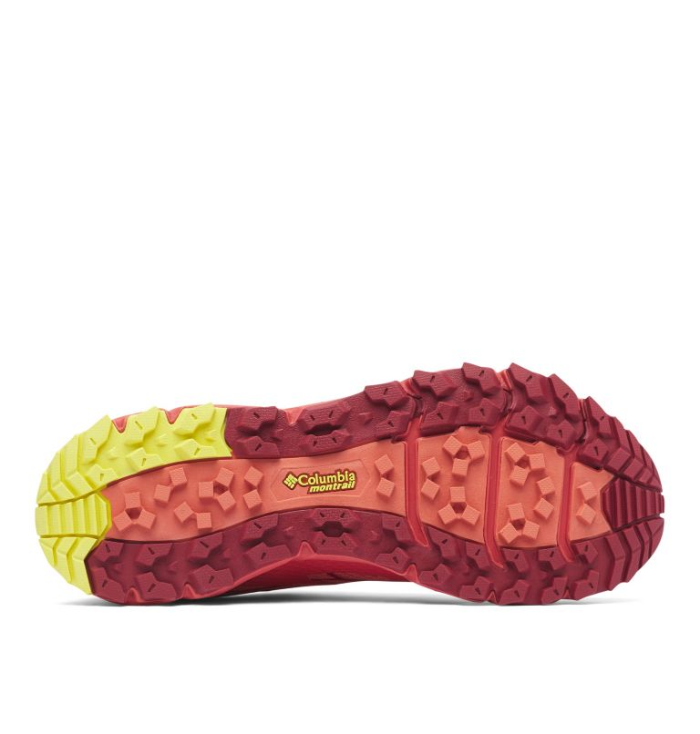 CALDORADO™ III | 852 | 8.5 Chaussures De Trail Running Caldorado™ III Femme, Faded Peach, Acid Yellow