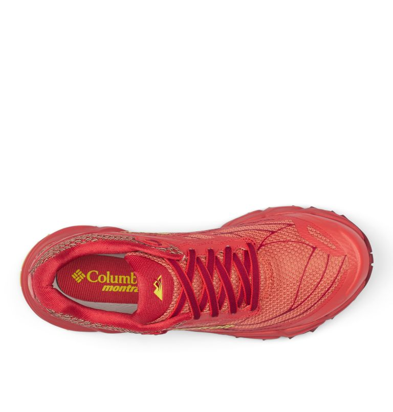 CALDORADO™ III | 852 | 8.5 Chaussures De Trail Running Caldorado™ III Femme, Faded Peach, Acid Yellow, top