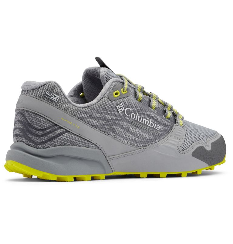 Men's Alpine FTG (Feel The Ground) OutDry™ Trail Running Shoe Men's Alpine FTG (Feel The Ground) OutDry™ Trail Running Shoe, 3/4 back