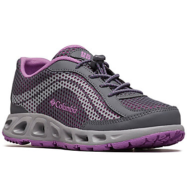 Zapato Drainmaker™ IV para jóvenes YOUTH DRAINMAKER™ IV | 426 | 1, Graphite, Northern Lights, 3/4 front