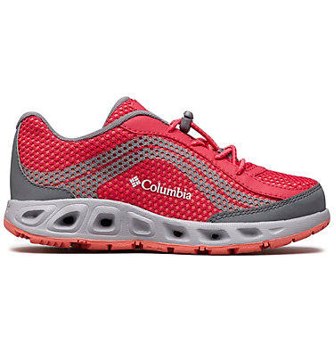 Big Kids' Drainmaker™ IV Water Shoe YOUTH DRAINMAKER™ IV | 426 | 1, Bright Rose, Hot Coral, front